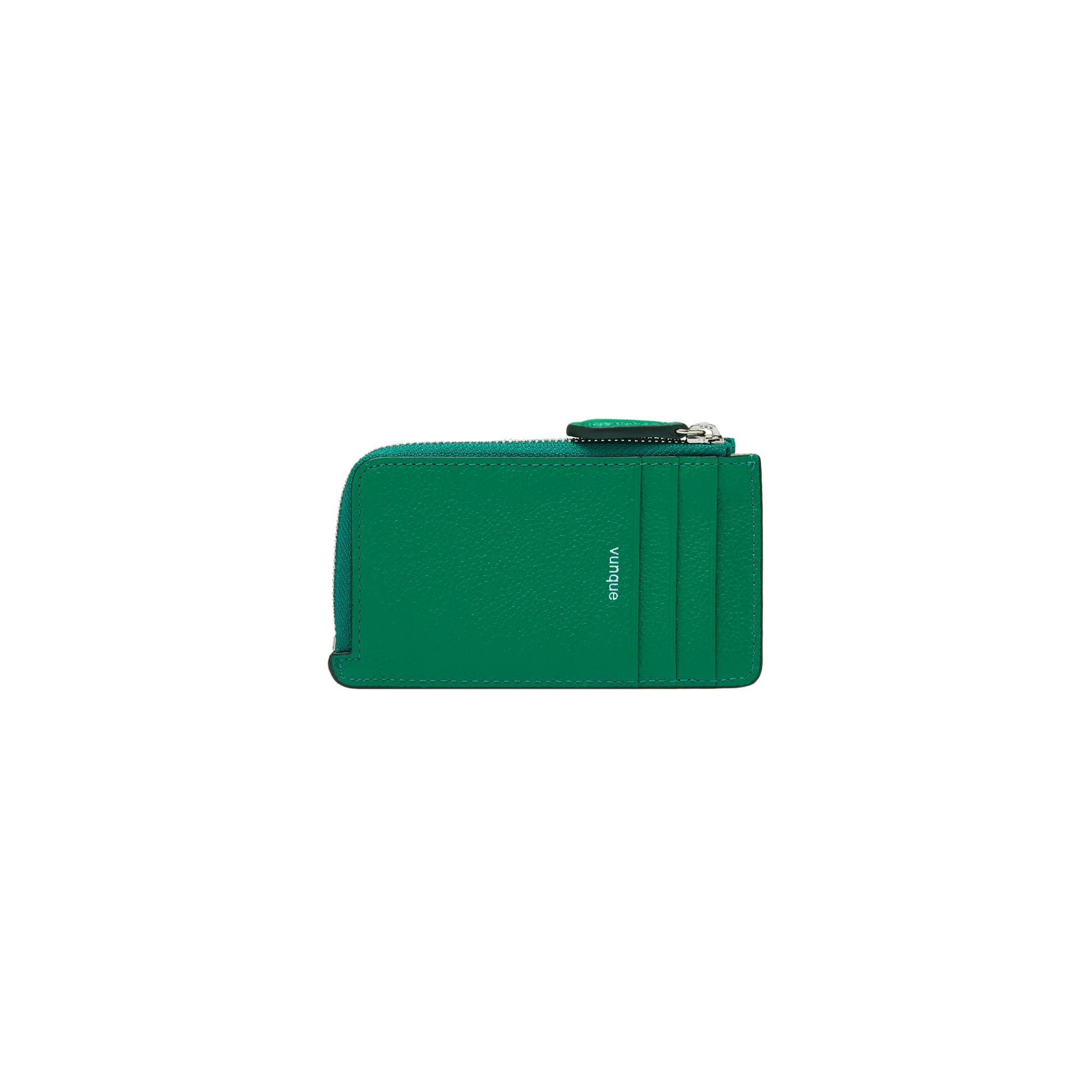 Magpie Zipper Card Wallet (맥파이 지퍼 카드지갑) Green