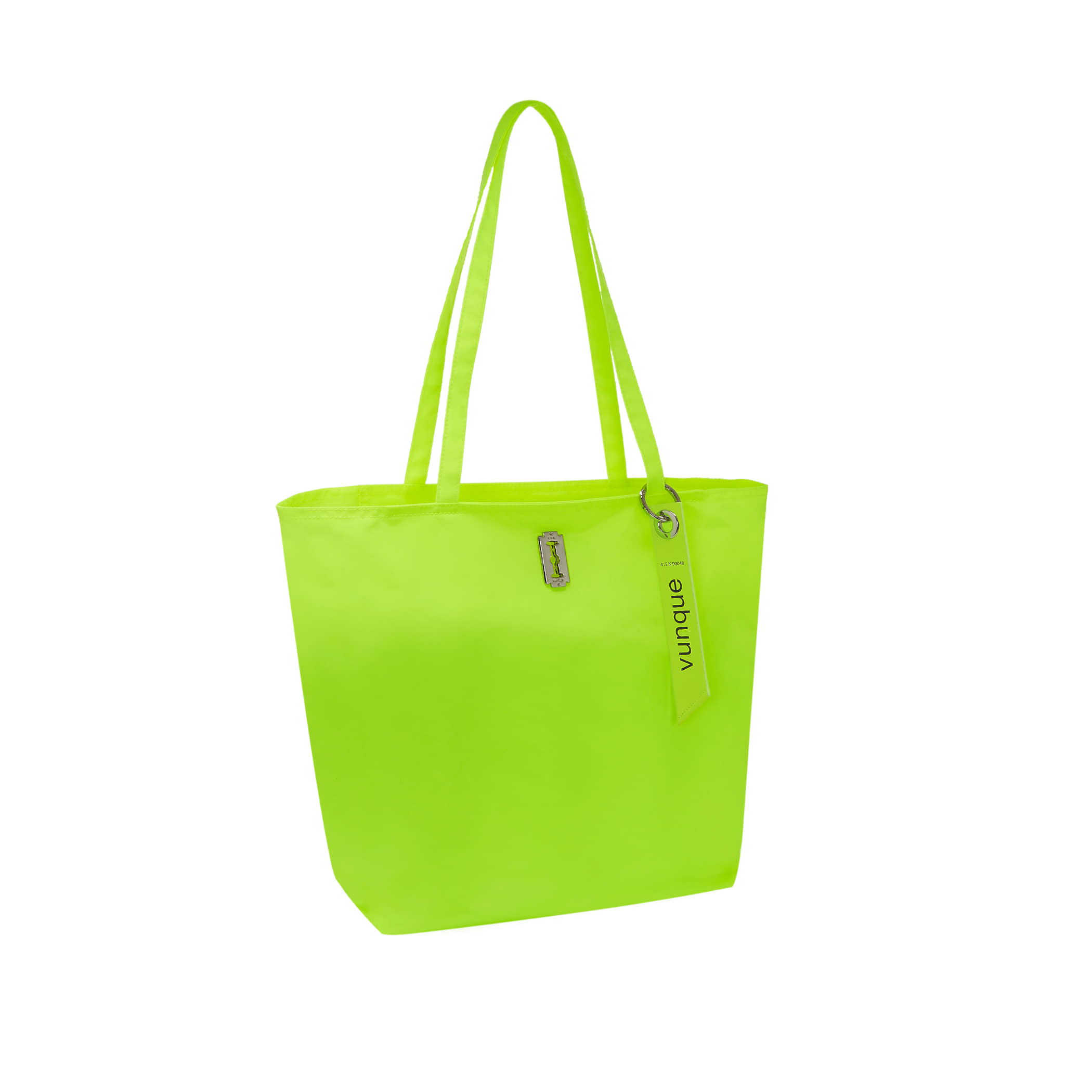 Hey Pass Shopper Bag (헤이 패스 쇼퍼백) Neon yellow