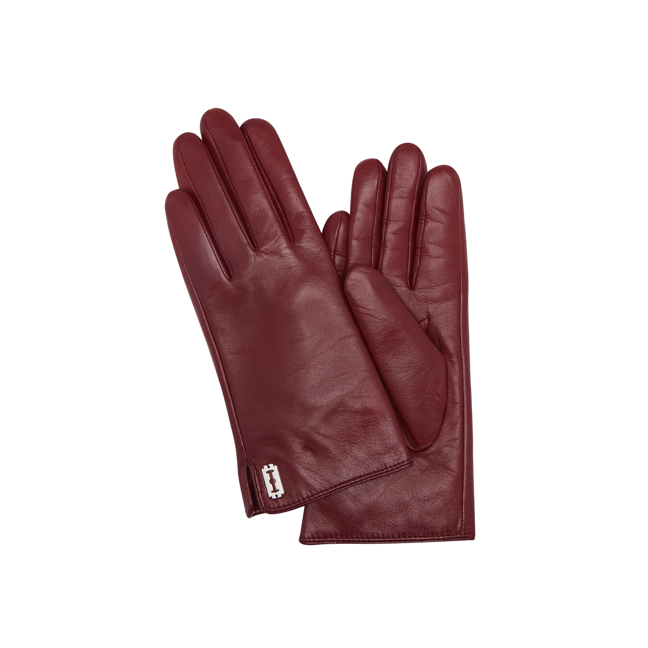Toque Leather Gloves (토크 레더 장갑) Wine